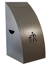 Урна для сміття ProfitM УДС -1 Сірий темний молотковий (1279)
