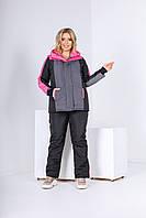 Женский лыжный костюм большого размера 4161 (ЮЭ)