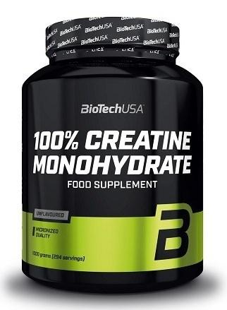 BioTech 100% Creatine Monohydrate 1000g