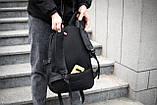Рюкзак мужской городской OFF WHITE TROFI черный, фото 9