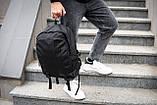 Рюкзак мужской городской OFF WHITE TROFI черный, фото 10
