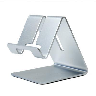 Подставка алюминиевая для планшета/смартфона/телефона Серебристая (AS014ALUM-S)