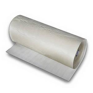 Фізично зшитий спінений поліетилен самоклеїться, 6 мм (білий)