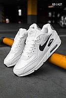 Кроссовки Nike Air Max 90 (бело/черные) ОРИГИНАЛ
