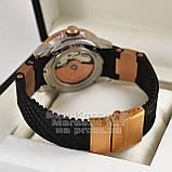 Часы Ulysse Nardin Maxi Marine Diver Chronometer Gold Black реплика механика с автоподзаводом, фото 6