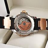 Часы Ulysse Nardin Maxi Marine Diver Chronometer Gold Black реплика механика с автоподзаводом, фото 8