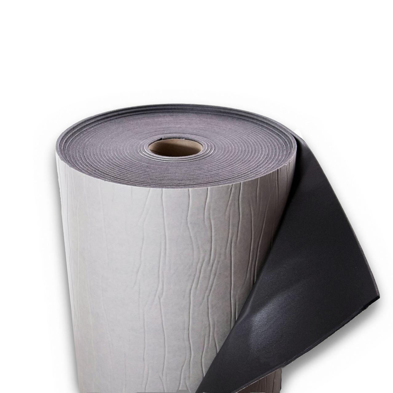 Физически сшитый вспененный полиэтилен самоклеящийся, 8 мм (темно-серый)