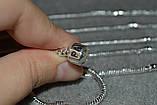браслет Пандора с серебряным покрытием проба 925 (22 см , фото 5