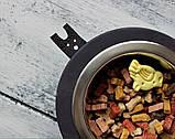 КІТ-ПЕС by smartwood Миски на подставке | Миска-кормушка металлическая для собак щенков  XS - 2 миски, фото 6