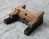КІТ-ПЕС by smartwood Мискa на подставке | Миска-кормушка металлическая для собак щенков - 1 миска 750 мл, фото 3