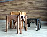КІТ-ПЕС by smartwood Мискa на подставке | Миска-кормушка металлическая для собак щенков - 1 миска 750 мл, фото 6