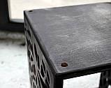 КІТ-ПЕС by smartwood Мискa на подставке | Миска-кормушка металлическая для собак щенков - 1 миска 1700 мл, фото 3