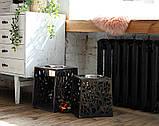 КІТ-ПЕС by smartwood Мискa на подставке | Миска-кормушка металлическая для собак щенков - 1 миска 1700 мл, фото 5