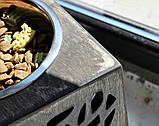КІТ-ПЕС by smartwood Мискa на подставке | Миска-кормушка металлическая для собак щенков - 1 миска 1700 мл, фото 7