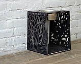 КІТ-ПЕС by smartwood Мискa на подставке | Миска-кормушка металлическая для собак щенков - 1 миска 1700 мл, фото 8