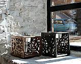 КІТ-ПЕС by smartwood Мискa на подставке | Миска-кормушка металлическая для собак щенков - 1 миска 1700 мл, фото 10