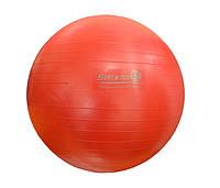 Мяч для фитнеса GYM BALL, матовый. d - 85 см КРАСНЫЙ
