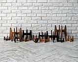 КІТ-ПЕС by smartwood Миска на подставке   Миска-кормушка металлическая для кошек котов котят - 1 миска 200 мл, фото 5