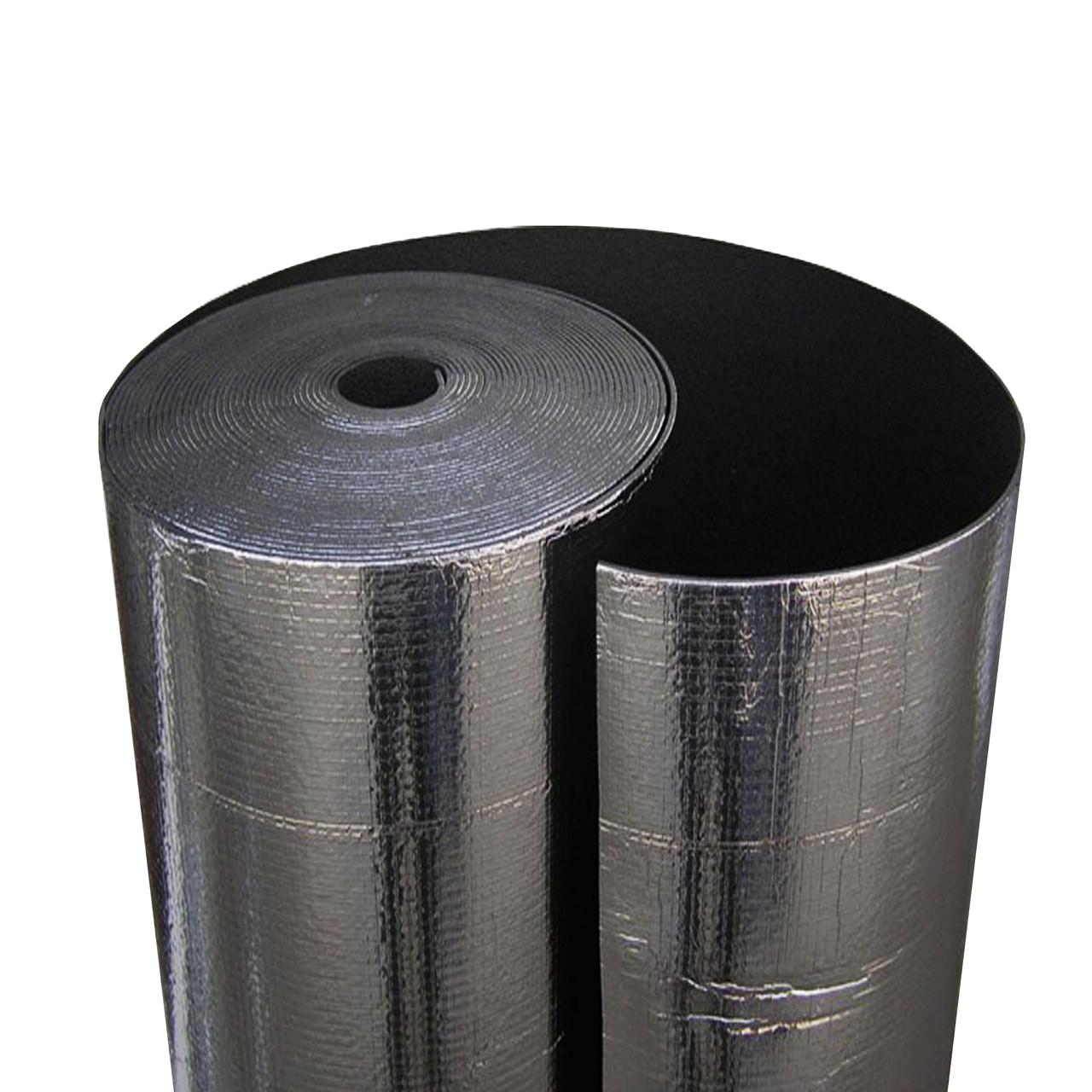 Физически сшитый вспененный полиэтилен фольгированный самоклеящийся, 4 мм