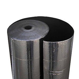 Фізично зшитий спінений поліетилен фольгований самоклеїться, 10 мм