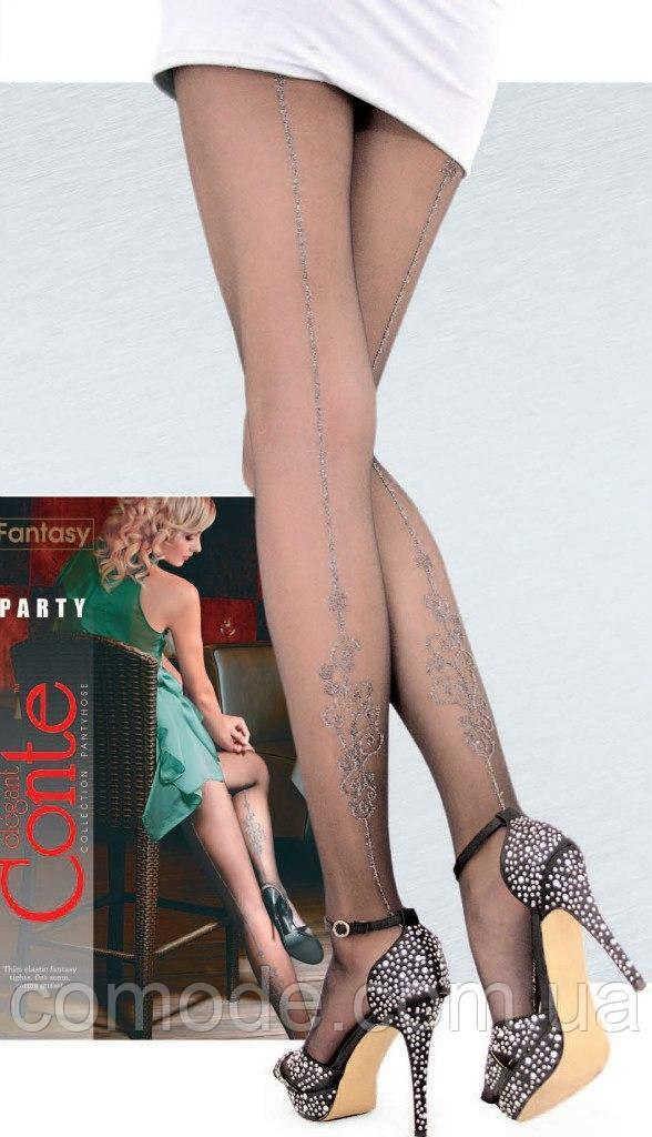 Колготки женские с люрексом PARTY Conte Fantasy