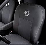 Авточехлы Nissan Almera economy 2006-2012 Nika  нисан альмера, фото 4