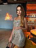 Платье женское с пайетками, фото 3
