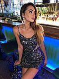 Платье женское с пайетками, фото 6