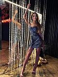 Платье женское с пайетками, фото 5