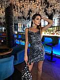 Платье женское с пайетками, фото 10