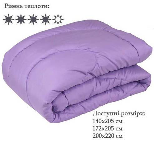 Одеяло Полуторное 140x205 Зима силикон 300 г/м2 (321.52СЛБ), фото 2
