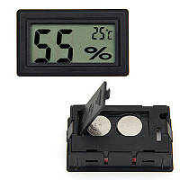 Автомобильный термометр электронный  с  влажностью  арт. ctn 5