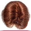 Парик из Натуральных Волос 50-55 см 155 грамм, Рыжий №33, фото 3