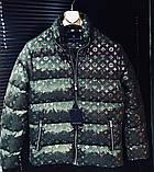 Мужская куртка Louis Vuitton CK1548 хаки, фото 3