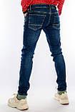 Джинсы мужские Узкие Franco Benussi 21-471 с 36 ростом синие, фото 2