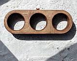 КІТ-ПЕС by smartwood Миски на подставке | Миска-кормушка металлическая для кошек котов котят  XS - 3 миски, фото 4