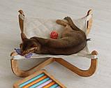 КІТ-ПЕС by smartwood Лежанка для кошки кота Лежак для кошки кота Спальное место, фото 7