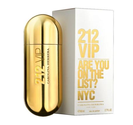 Оригинал женская парфюмированная вода Carolina Herrera 212 VIP