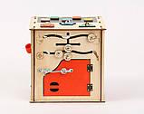 Развивающая игрушка Бизикуб   Игры на логику   Логические игры   Развивающие игрушки   Деревянные игрушки, фото 5
