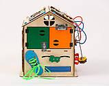 Развивающая игрушка Бизидомик | Игры на логику | Логические игры | Развивающие игрушки | Деревянные игрушки, фото 2