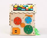 Развивающая игрушка Бизидомик | Игры на логику | Логические игры | Развивающие игрушки | Деревянные игрушки, фото 3