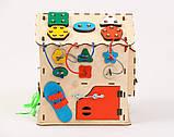Развивающая игрушка Бизидомик | Игры на логику | Логические игры | Развивающие игрушки | Деревянные игрушки, фото 4