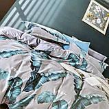 Полуторный комплект постельного белья с простынью на резинке 150*220см. Постельное белье с фланели, фото 3