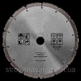 Сегментный алмазный диск DWT, 125 мм, DADD-RD22125