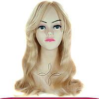 Парик из Натуральных Волос 50-55 см 165 грамм, Блонд №613