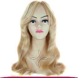 Перука з Натурального Волосся 50 см 160 грам, Блонд №613