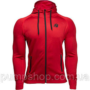 Спортивная кофта Gorilla Wear Bridgeport Zipped Hoodie XXL красное