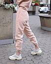 Зимнее спортивные штаны женские бежевые Эми от бренда ТУР  размер: XS, S, M L, фото 2