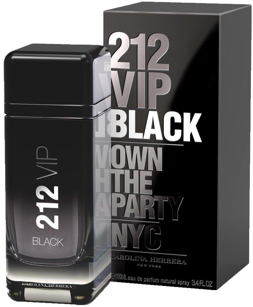 Оригинал мужская парфюмированная вода Carolina Herrera 212 VIP Black