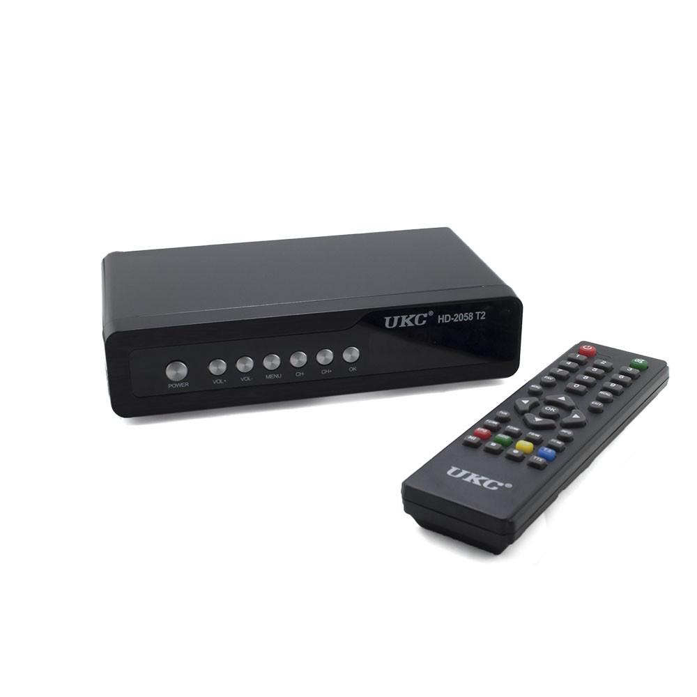 Цифровой ресивер DVB-T2 2058 Метал